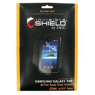 ZAGG- InvisibleSHIELD Screen Protector for Samsung Galaxy Tab - Clear