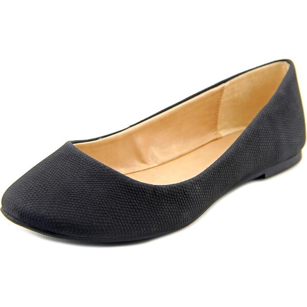 Mix No 6 Danzey Women Round Toe Synthetic Black Flats