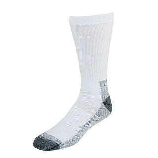 Fruit of the Loom Men's Big and Tall Work Socks (5 Pair Pack)