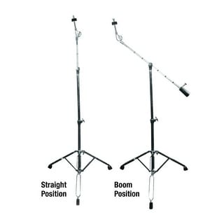 GP Percussion Professional Boom Arm Combo Cymbal Stand