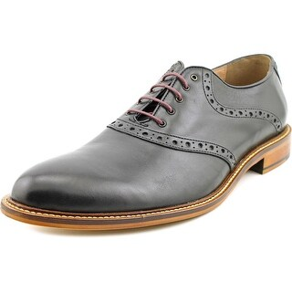 Aston Grey Collection Tokyo Men Round Toe Leather Oxford