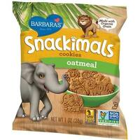Barbara's Bakery - Oatmeal Snackimals Cookies ( 36 - 1 OZ)