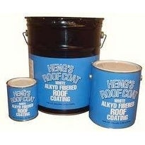 HENG'S 45032 ROOF COATING ALKYD WHITE QT