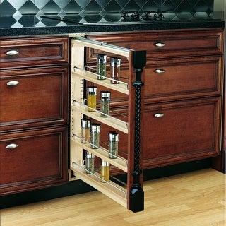 Rev-A-Shelf 432-BF-3C 432 Series 3 Inch Base Cabinet Pull Out Shelf Filler - N/A