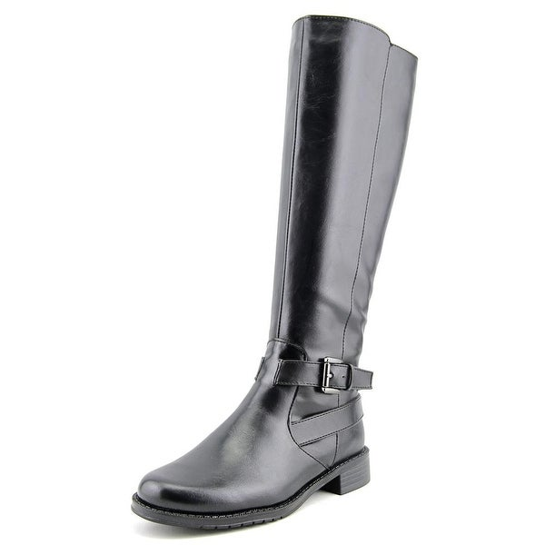 Aerosoles With Pride Wide Calf Women Round Toe Synthetic Black Knee High Boot