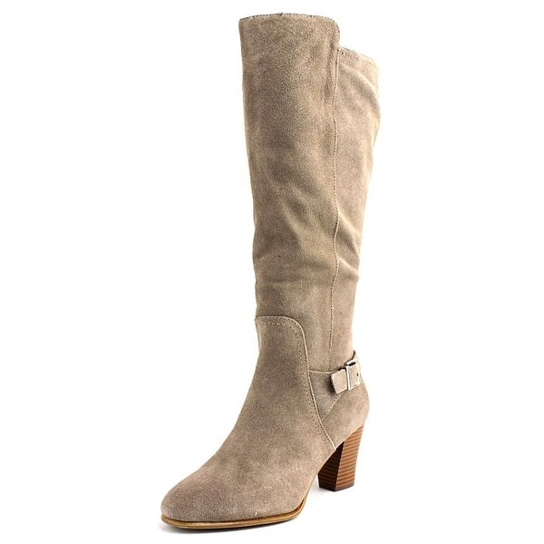 Alfani Careeni Round Toe Suede Knee High Boot