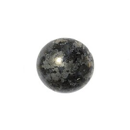Pyrite Gemstone Round Flat-Back Cabochons 13mm (4 Pieces)