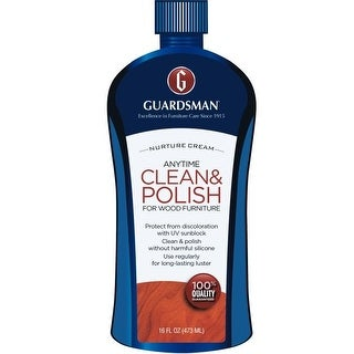 Guardsman 461500 Furniture Polish Cream, 16 Oz