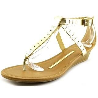 New Directions Ocean Women  Open Toe Synthetic  Wedge Sandal