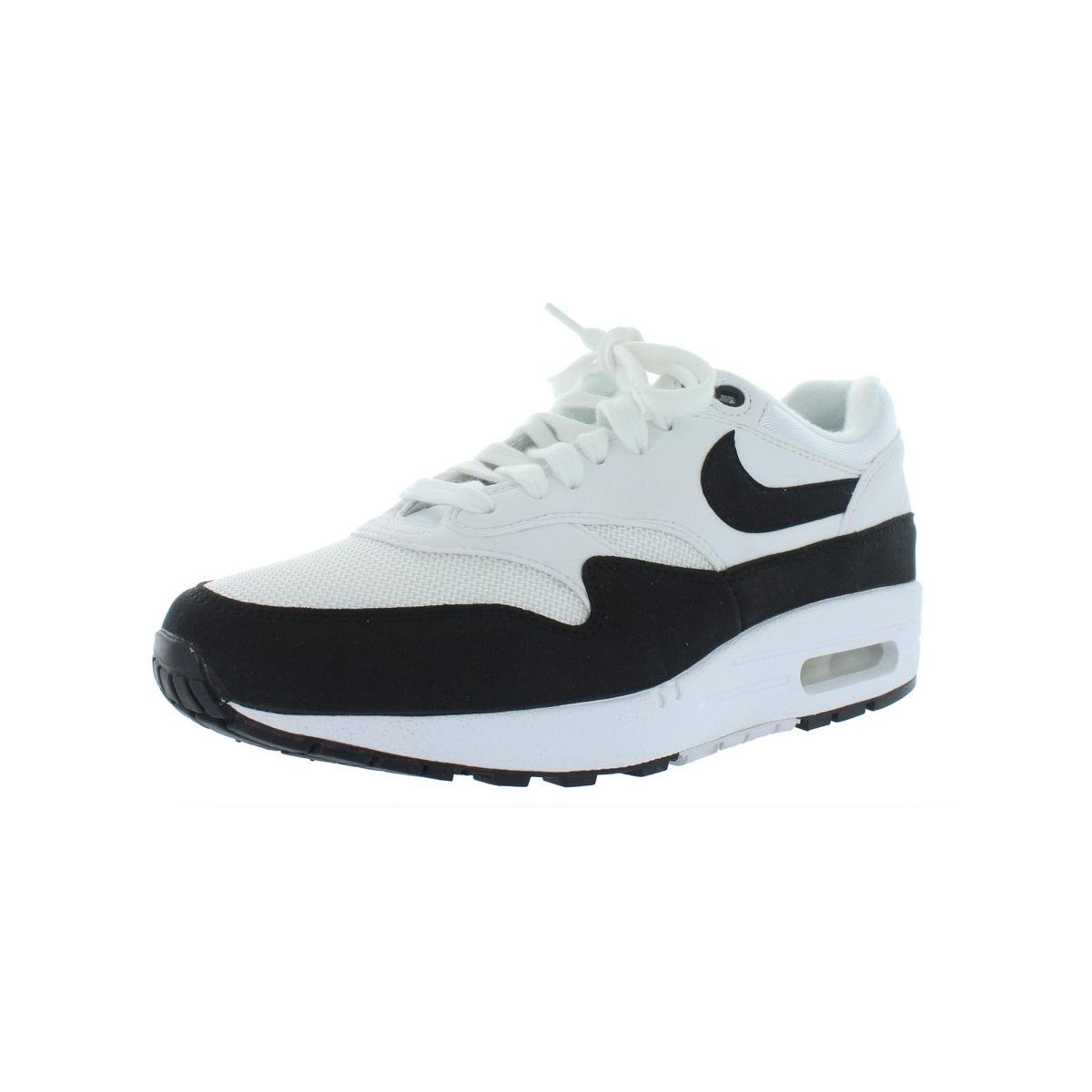 Nike Womens Air Max 1 Premium SC Suede Athletic Shoes Gray 8.5 Medium (B,M)