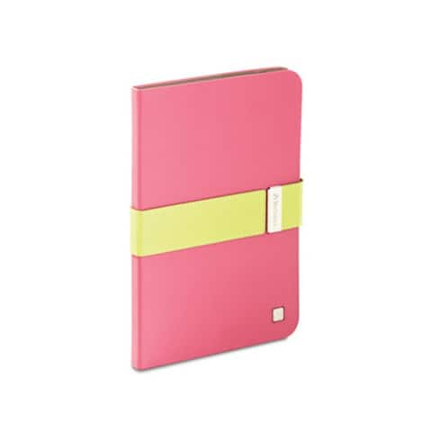 Verbatim Folio Signature Case for iPad Mini and iPad Mini with Retina Display, 98418, Pink/Green