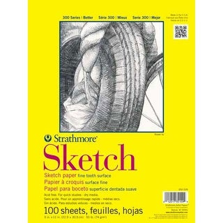 "Strathmore - Sketch Paper Pad - 300 Series - Tape-Bound - 18"" x 24"""