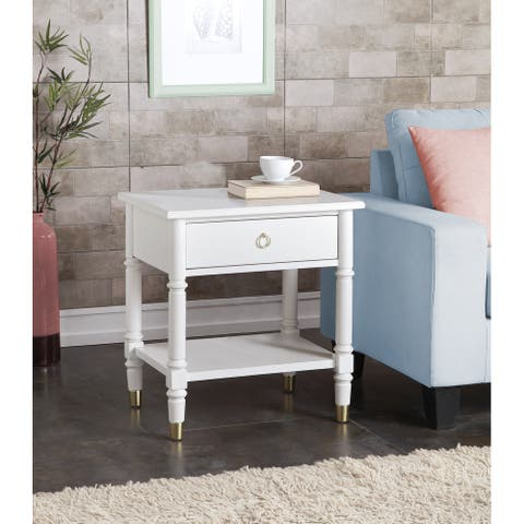 Jewel One Drawer Nightstand by Greyson Living