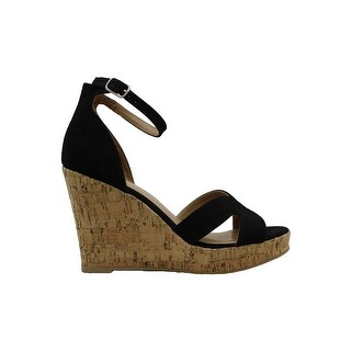 Link to Material Girl Women's Shoes Bretta Open Toe Casual Similar Items in Women's Shoes