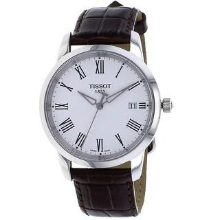 Tissot Men's Dream White Dial Watch