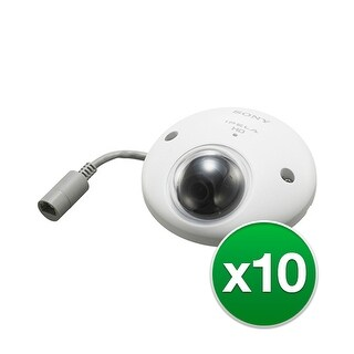 Sony Network Outdoor IP Minidome Camera (10-Pack) Network Outdoor IP Minidome Camera