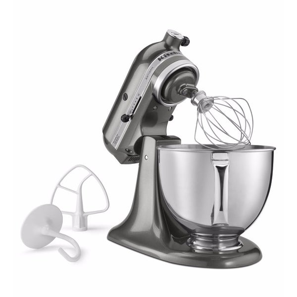 526765b622b Shop KitchenAid Artisan Series 5-Quart Tilt-Head Stand Mixer (Graphite  Gray) - Free Shipping Today - Overstock - 17754848