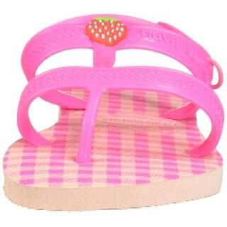 Havaianas Kids' Joy Spring Sandal Ballet Rose/Shocking Pink - 33/34 BR /Big Kid (3/4 M US)