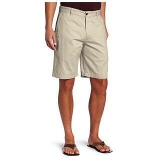 Dockers Mens Khaki Shorts Twill Flat Front