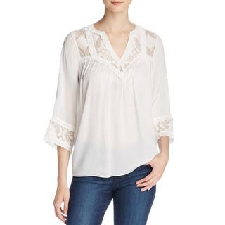 Pepin Womens Pullover Top Sheer Lace-Trim|https://ak1.ostkcdn.com/images/products/is/images/direct/d72d0603273a2c28d3c7dcd3648c6211b72da138/Pepin-Womens-Pullover-Top-Sheer-Lace-Trim.jpg?impolicy=medium