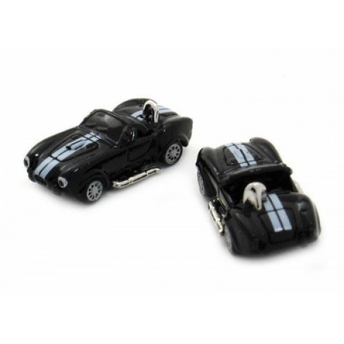 Black Cobra Ac Race Car Cufflinks
