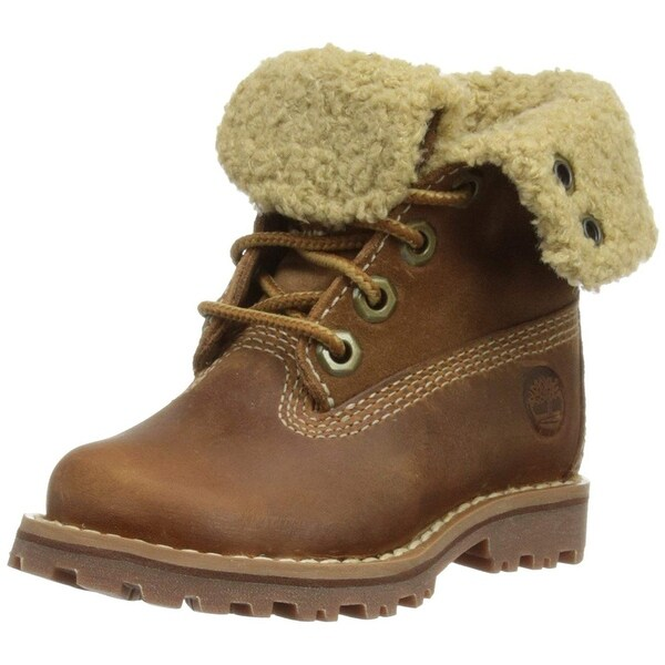 2439d577d688 Timberland Girls Authentic 6 Inch Waterproof Shearling Boots - 6 m us big  kid