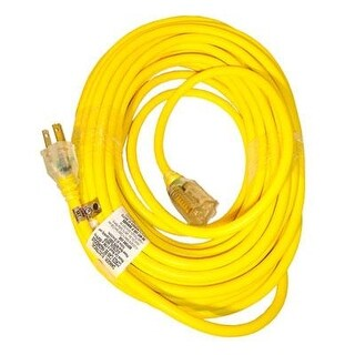 Snow Joe Pjext50-B Low Temp Extension Cord - 50' - 14 Guage - Lighted End