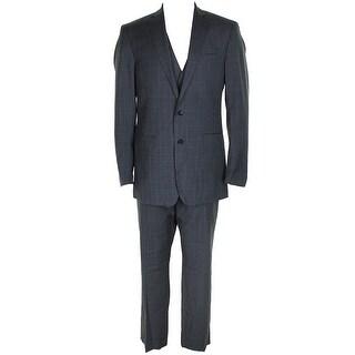 Calvin Klein Mens Grey Piece Suit - 42