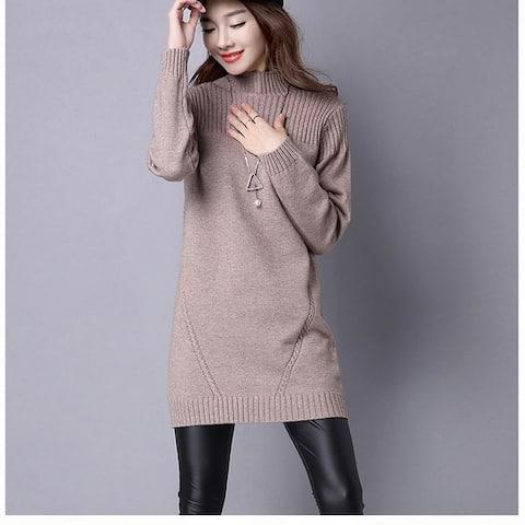 Half-Neck Sweater Korean Knit Bottoming Shirt