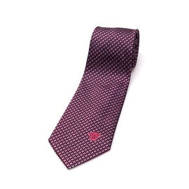 Versace Men Slim Silk Neck Tie B0901 Red Blue