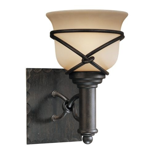 Minka Lavery ML 5971-1 1 Light Bathroom Sconce from the Aspen II Collection - Thumbnail 0