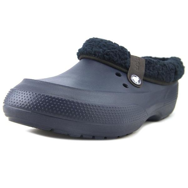 ef1dc5e82dcce Shop Crocs Blitzen II Clog Men Round Toe Synthetic Blue Clogs - Free ...