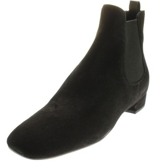 Prada Womens Suede Chelsea Ankle Boots - 7.5