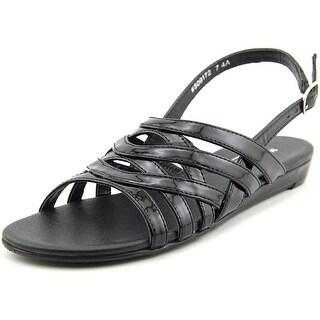 Mark Lemp By Walking Cradles Lanie SS Open-Toe Synthetic Slingback Sandal