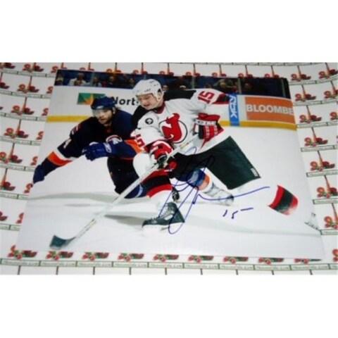 Memorabilia Lane Jamie Langenbrunner Autographed 8 X 10 Hockey Photo