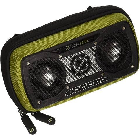 Goal Zero Rock Out 2 Wireless Rechargeable Bluetooth Speaker (Green) - Green - 3.7 x 7 x 2.5 in