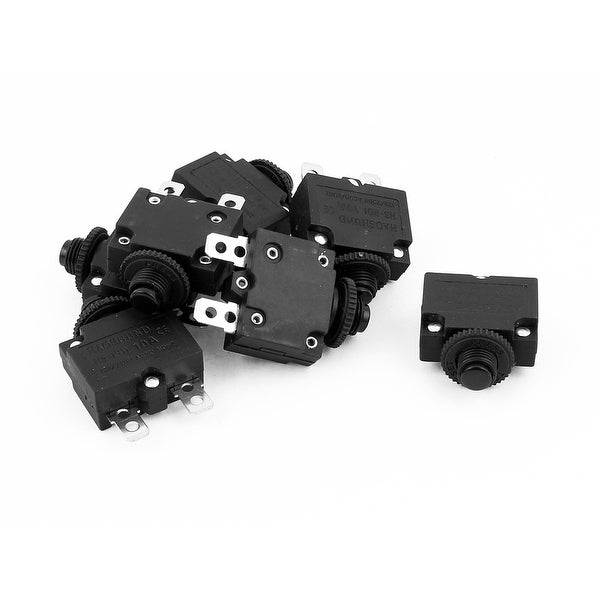 AC125V/250V 10A HS-R01 Air Compressor Overload Protection Circuit Breaker 7  Pcs