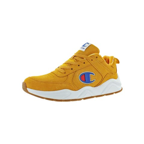 Champion Mens 93Eighteen Big C Fashion Sneakers Low-Top Casual