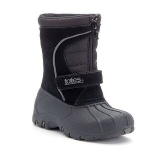 Totes Toddler Boys Winter Boots Travis - Black