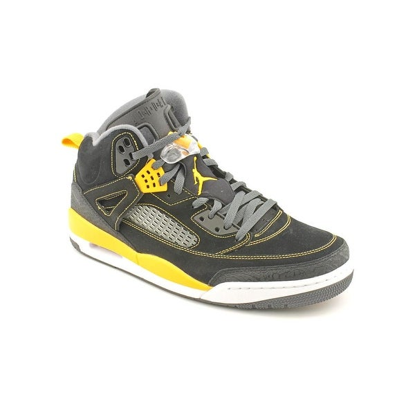 Nike Air Jordan Spizike Men Round Toe Synthetic Black Basketball Shoe