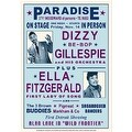 ''Dizzy Gillespie and Ella Fitzgerald, Detroit, 1947'' by Anon Music Art Print (24 x 17 in.) - Thumbnail 0