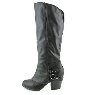 American Rag Womens Eboni Closed Toe Mid-Calf Riding Boots