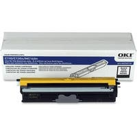 """OKI Toner Cartridge - Black 44250716 Oki Toner Cartridge - Black - LED - High Yield - 2500 Page - 1 Each"""