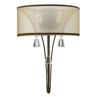 Fredrick Ramond FR45602 2-Light Wall Sconce from the Mime collection - n/a