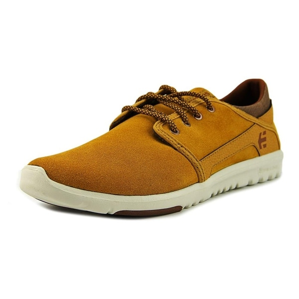 Etnies Scout Men Round Toe Synthetic Tan Skate Shoe