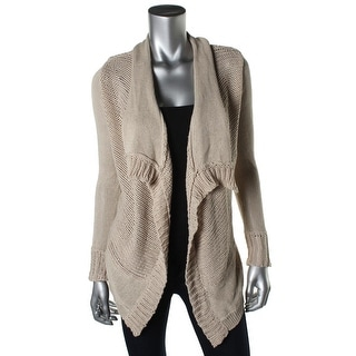 Ripcurl Womens Juniors Florance Knit Open Front Cardigan Sweater