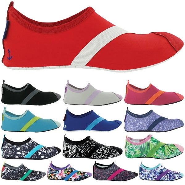 c6cbfb268afa Shop FitKicks Women s Breathable Ergonomic Comfort Non-Slip Sole Active  Footwear - Free Shipping On Orders Over  45 - Overstock - 16498437