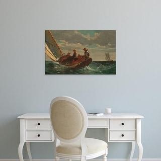 Easy Art Prints WInslow Homer's 'A Fair Wind' Premium Canvas Art