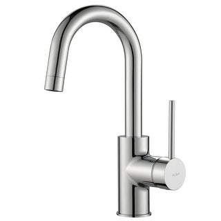 Link to Kraus Oletto Single Handle 1-Hole Kitchen Bar Faucet Similar Items in Faucets