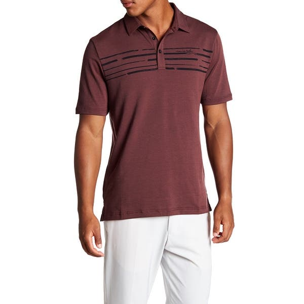 360bd5872 Shop TRAVIS MATHEW NEW Red Mens Size Small S Surs Slim Fit Golf Polo ...